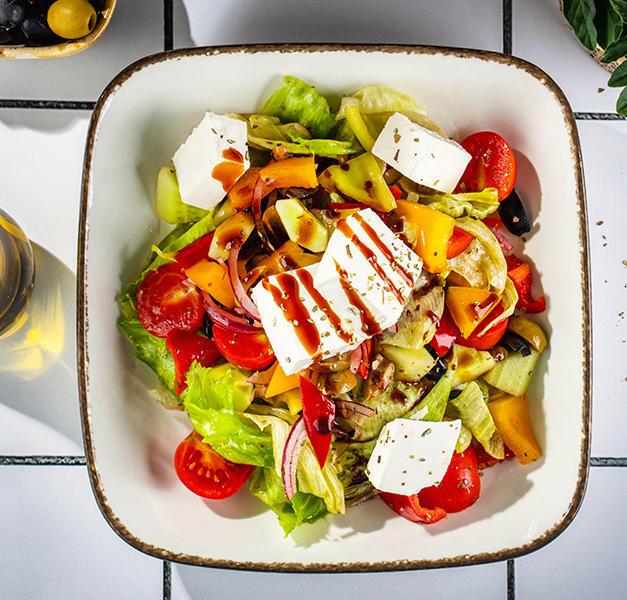 ბერძნული სალათი  Greek salad