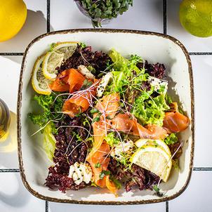 ორაგულის სალათი  Salmon salad