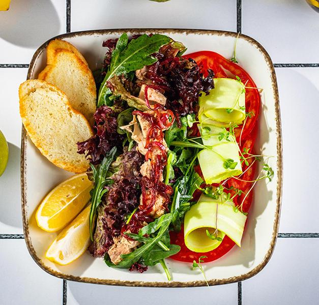 თინუსის სალათი  Tuna salad