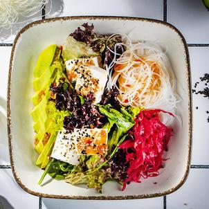 ავოკადოს სალათი  Avocado salad