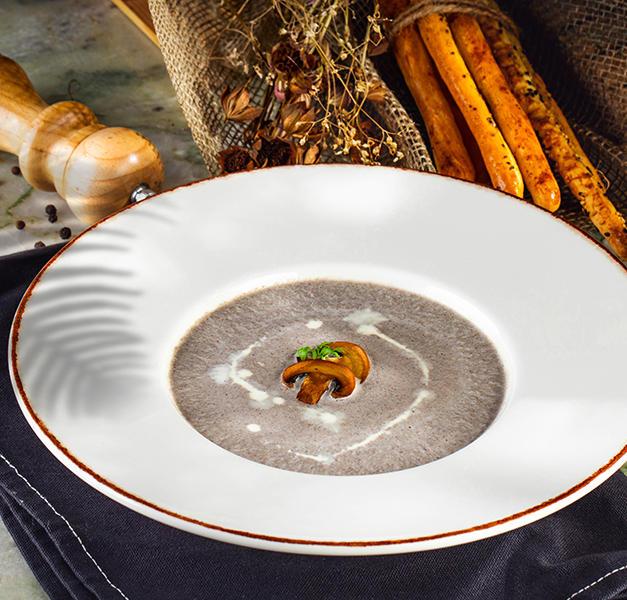 სოკოს კრემ-სუპი  Mushroom cream-soup