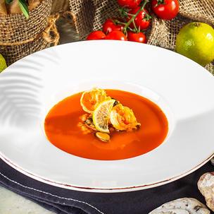 ზღვის პროდუქტების სუპი  Seafood soup