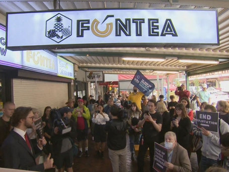 Bubble tea shop where worker was allegedly assaulted accused of wage theft