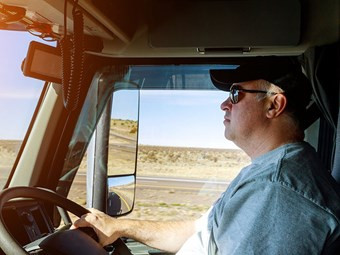 ALARM OVER TRUCK DRIVER HEALTH REPORT
