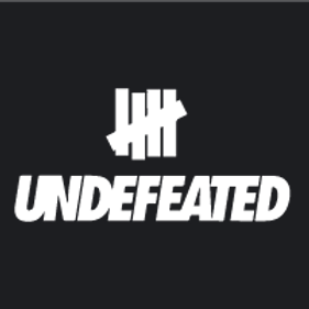 Undefeated #1 Back Quarter Stencil
