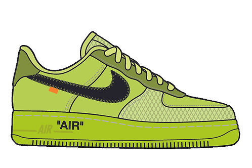 Off White Air Force 1 Volt