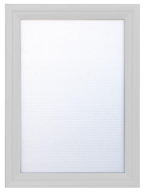 White A2 Shutter Frame