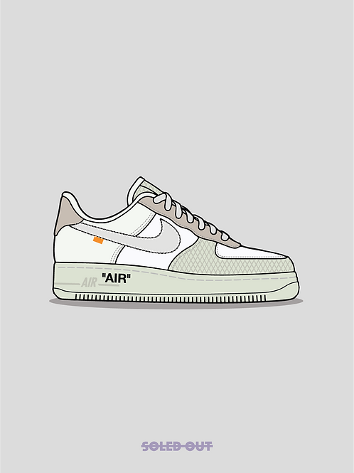 Air Force 1 Off White ComplexCon Poster