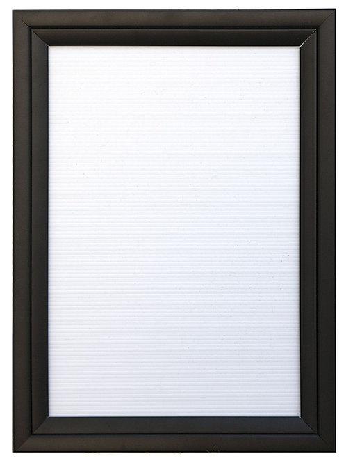 Black A2 Shutter Frame