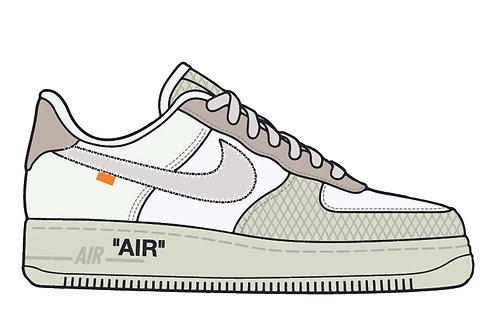 Off White Air Force 1 Complexcon