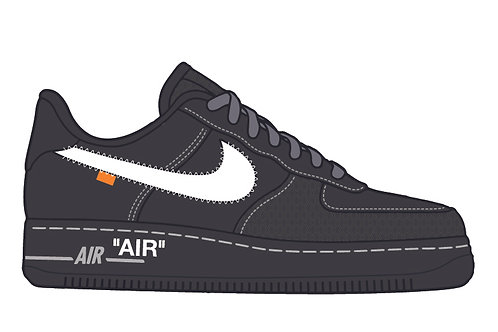 Off White Air Force 1 Momo