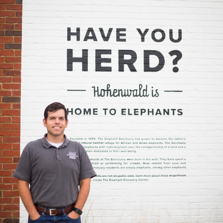 Todd Montgomery: Operations and Outreach Manager at the Elephant Sanctuary