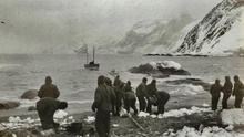 Loading the James Caird