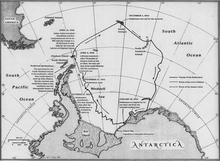 Map of Endurance Expedition