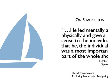 Leading Like Shackleton