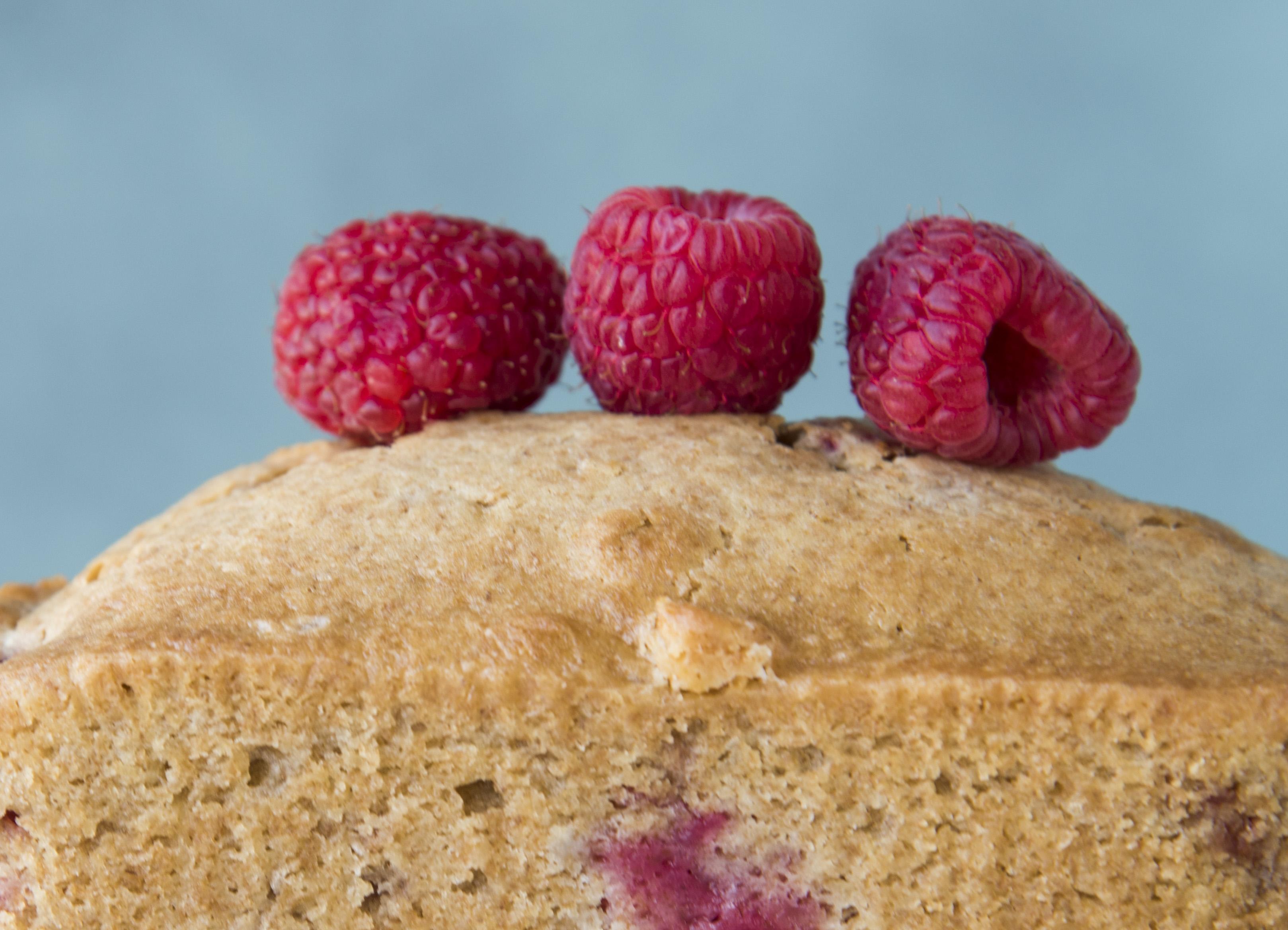 White Chocolate Raspberry Loaf