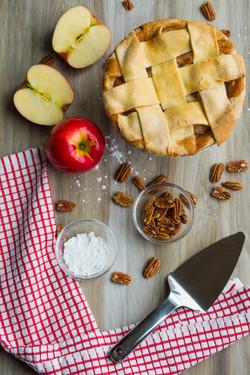 Apple Pie Flatlay