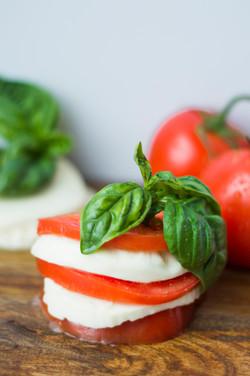 Tomato Mozzarella Basil