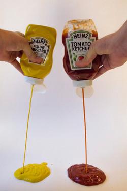 Ketchup + Mustard.