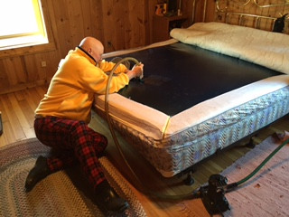waterbed with Bill