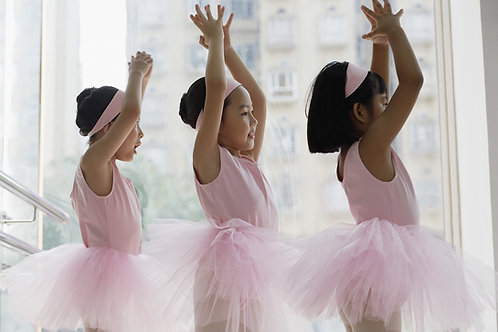 Pre-Ballet & Ballet-1 Monthly Tutu Tuition