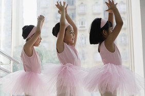 A donation to a ballet school