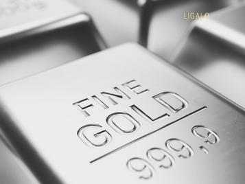 Altas históricas do mercado do ouro
