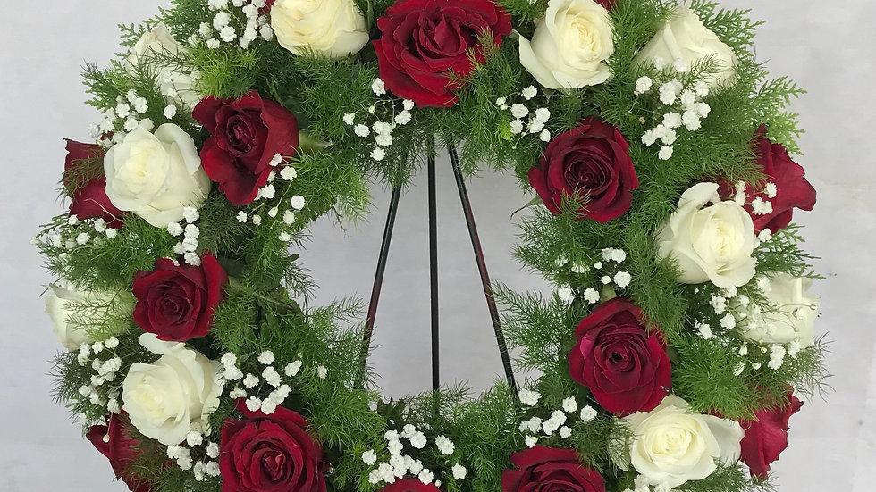 "18"" Exotic Round Wreath"