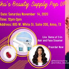Pop Up 5 at Terrinika's Beauty Supply- Anna, Texas