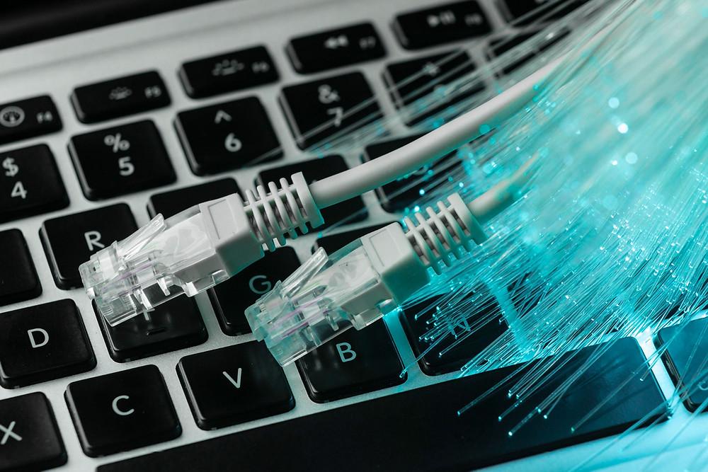 ordinateur fibre optique