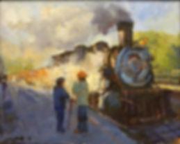 Lily Braff_Durango Steamer Arriving.JPG
