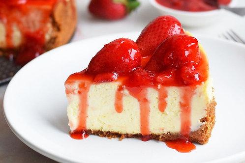 Cheesecake w/Strawberries $5/Slice