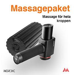Massagepaket Delta Plus Vibrating Roller