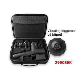 Massagepistol Alpha + Vibrating Trigger Ball