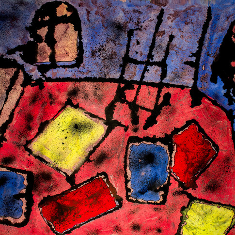Studio of the painter, 1984