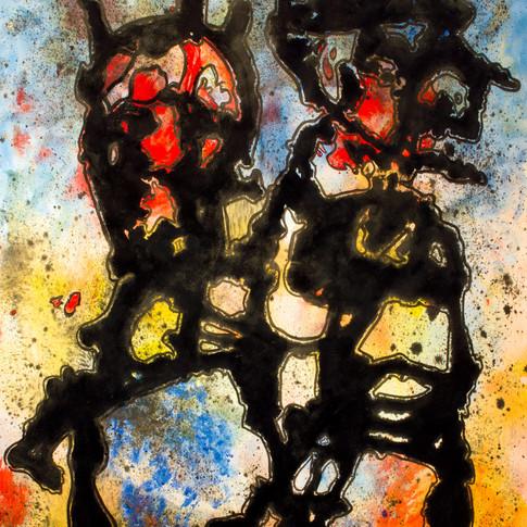 Shaman with mask II, 1983