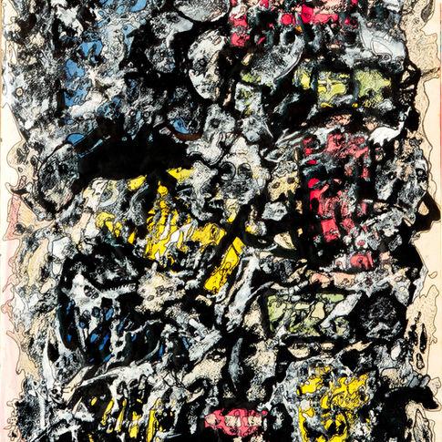 Burst wall,1989