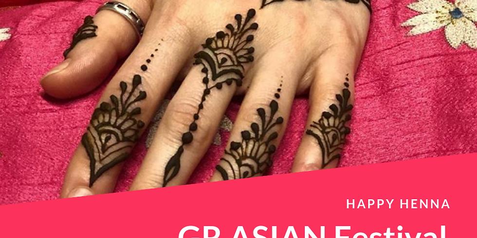 GR Asian Festival - Henna