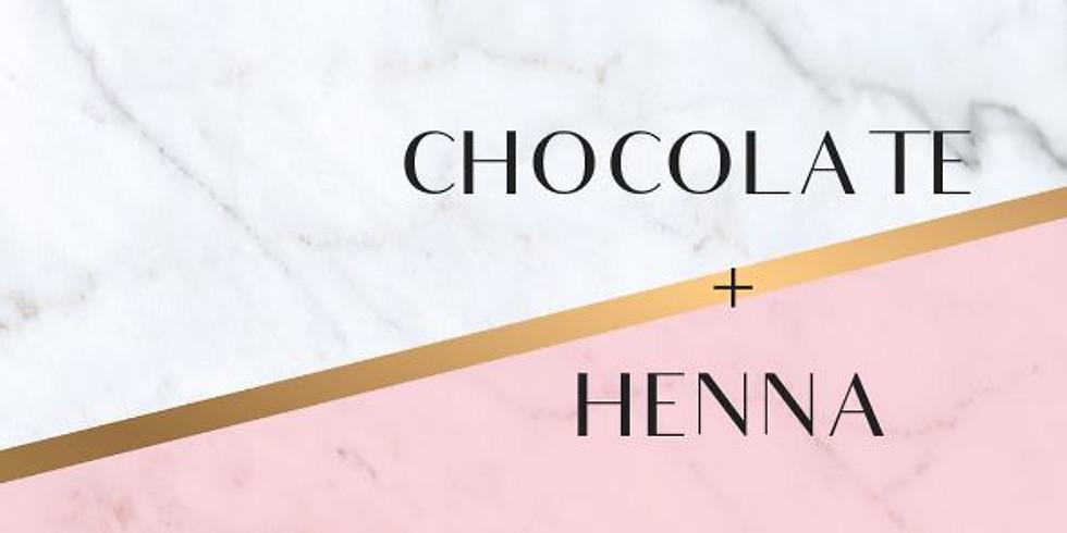 Chocolate + Henna