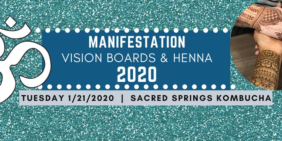 Vision Boards & Henna 2020