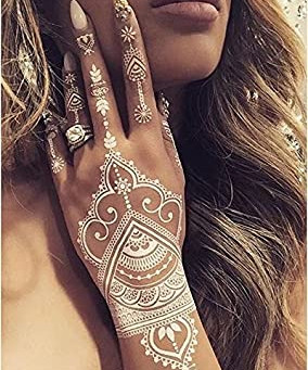 What is WHITE HENNA?