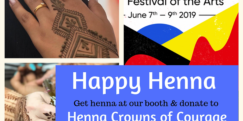 Henna at Festival of the Arts
