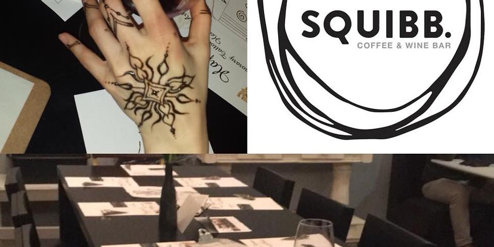Wine & Henna at Squibb