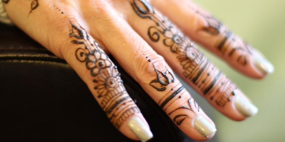 Meditation Vision Boards & Henna