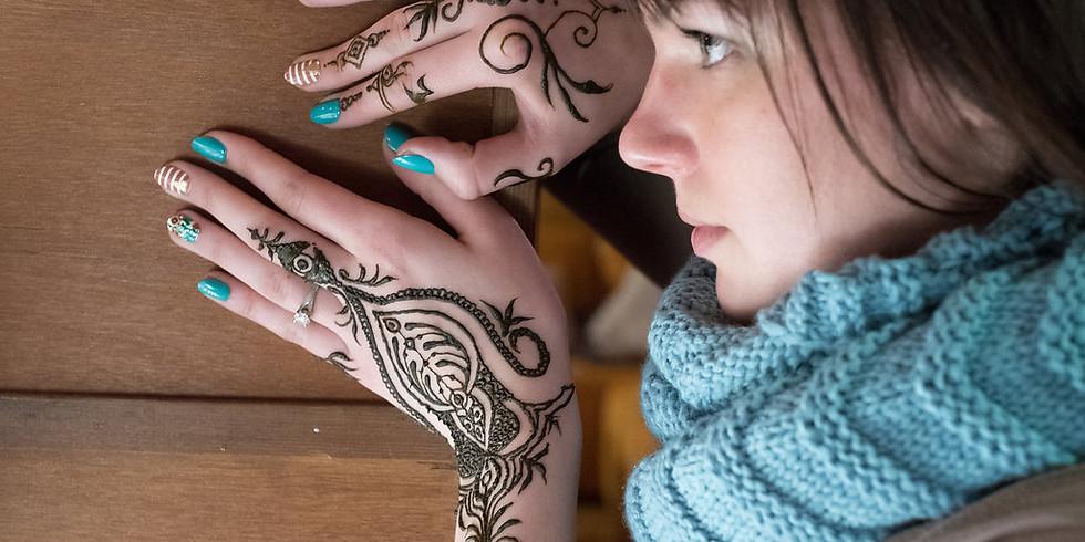 Celebrating Women with Henna