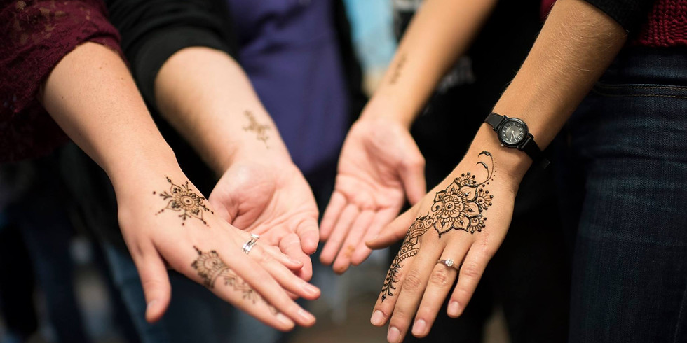 Wine and Henna at Squibb