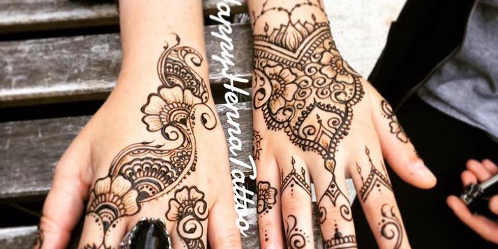 Henna at Sweet Peoney