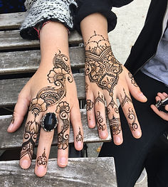 henna for corporate events