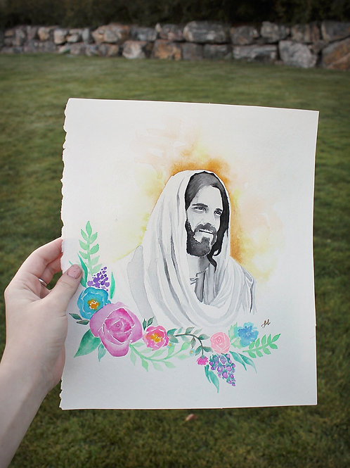 """He Lives"" - A Portrait of Jesus Christ"