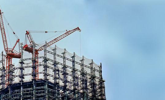 Bauarbeiten im Gange
